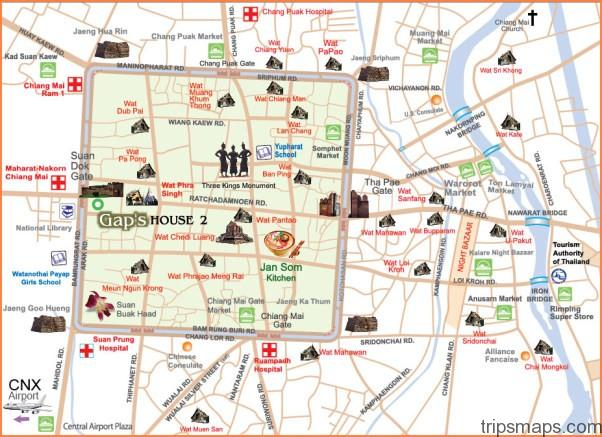 Map of Chiang Mai - Travel | Map