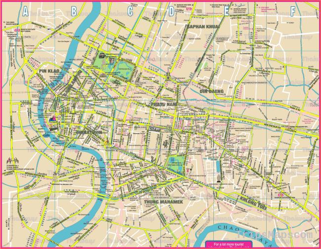 Bangkok Map - Detailed City and Metro Maps of Bangkok for Download