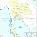 Where Is Bangkok Located On A Map