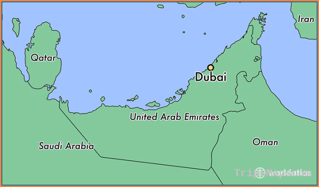 Where is Dubai, The United Arab Emirates? / Dubai, Dubai Map