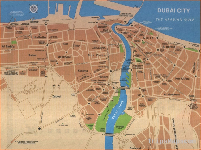 Large Dubai Maps for Free Download and Print | High-Resolution and