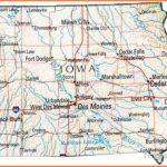 Map of Iowa, IA state map