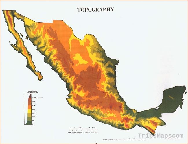 Atlas of Mexico - Perry-Castañeda Map Collection