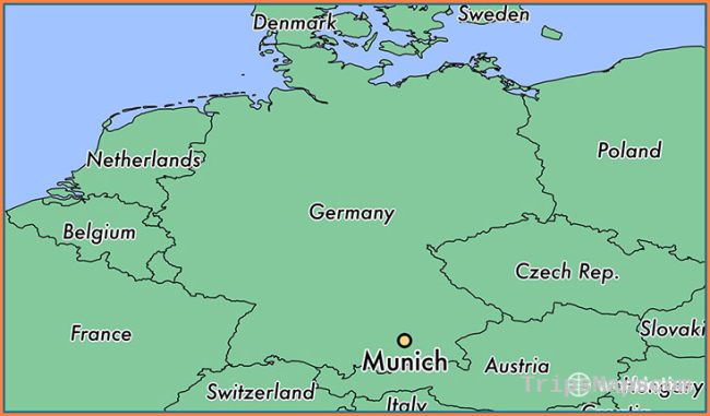Where is Munich, Germany? / Munich, Bavaria Map