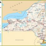 New York highway map
