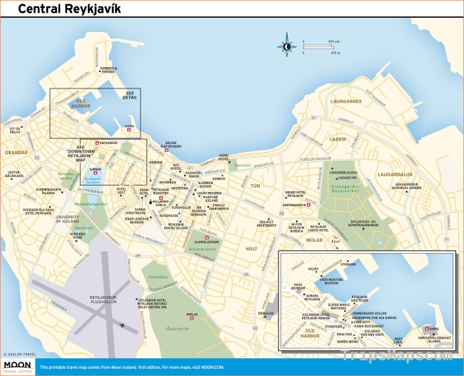picture about Printable Map of Iceland called Wherever is Reykjavik Iceland? Reykjavik Iceland Maps - Generate