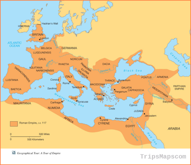 Ancient Rome Geography and Maps for Kids and Teachers - Ancient Rome