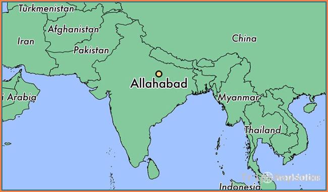 Where is Allahabad, India? / Allahabad, Uttar Pradesh Map
