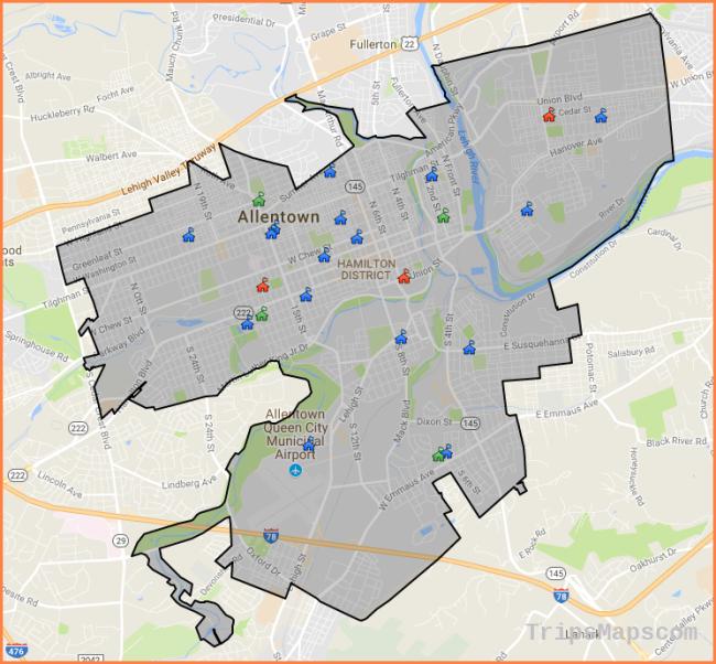 School Boundaries - Allentown School District