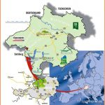 Upper Austria Tourist Map - Austria • mappery