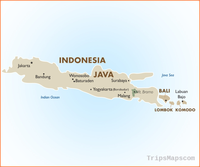Indonesia - Geography and Maps