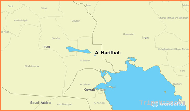 Where is Al Harithah, Iraq? / Al Harithah, Basra Governorate Map