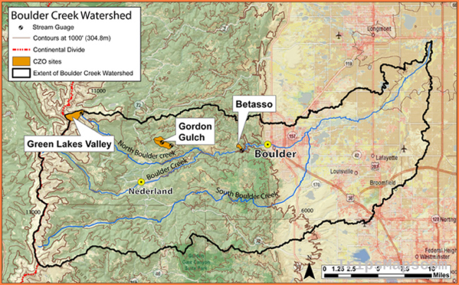Boulder Creek Watershed | Boulder Critical Zone Observatory