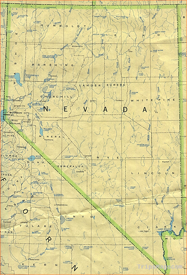 Nevada Maps - Perry-Castañeda Map Collection