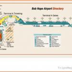 Burbank Bob Hope Airport Terminal Map