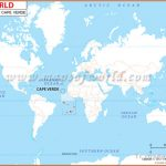 Where is Cape Verde Located? Location map of Cape Verde