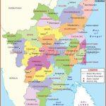 Tamilnadu District Map