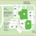 Parking at Liberty Campus