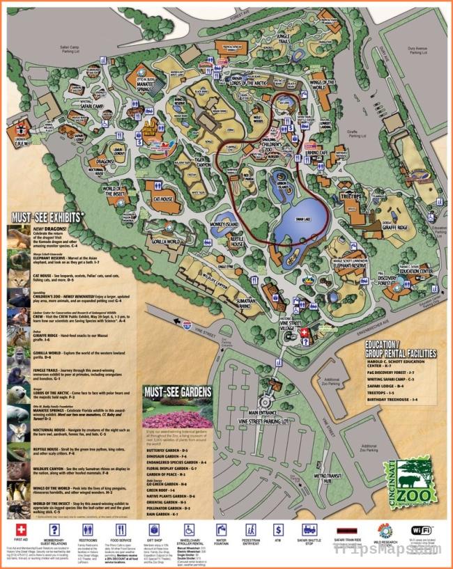Cincinnati Zoo - Maplets