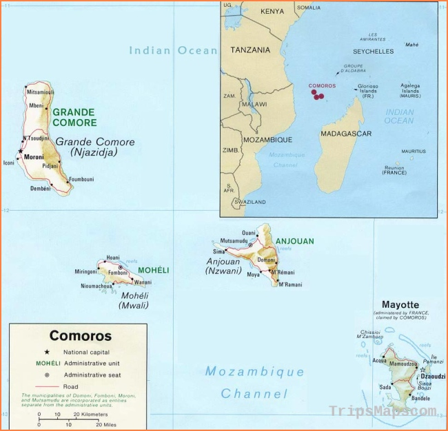 Conflict in the Comoros | GeoCurrents