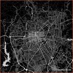 Area map of Curitiba, Brazil