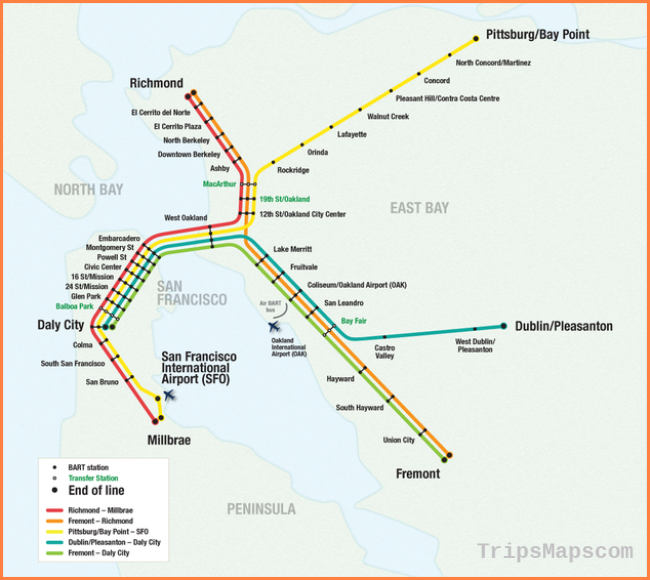 How to Ride Bay Area Rapid Transit