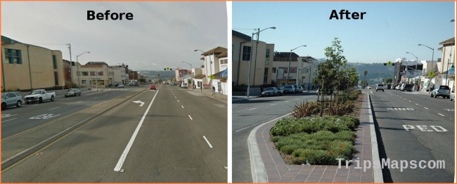 """Improving Daly City's """"Top of the Hill"""" for Walking and Transit"""