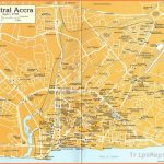 Central Accra Tourist Map - Accra Ghana • mappery
