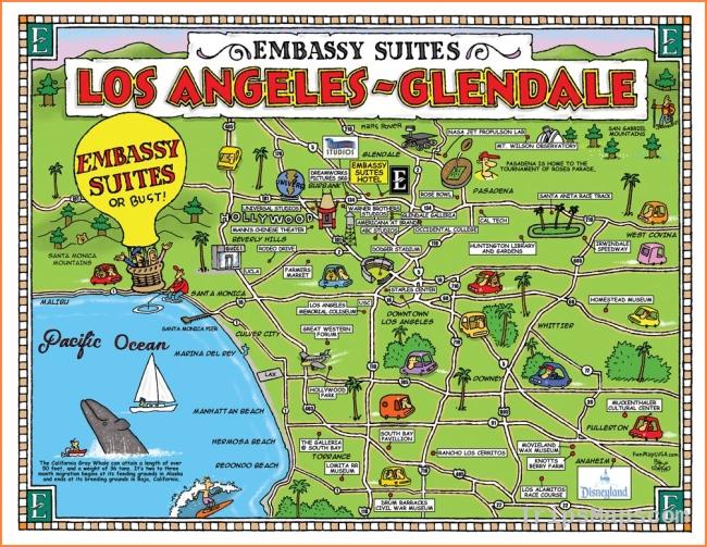 Glendale Galleria Map Unique Embassy Suites Los Angeles Travel