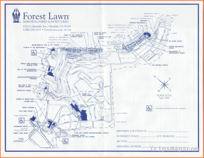 Forest Lawn Memorial Park (Glendale) in Glendale, California