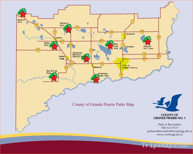 Campgrounds & Parks | County of Grande Prairie No. 1