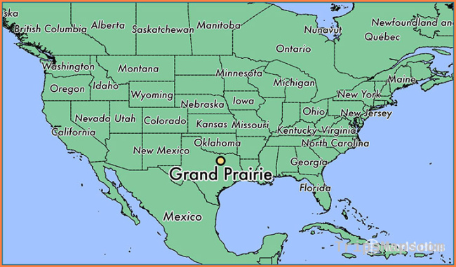 Where is Grand Prairie, TX? / Grand Prairie, Texas Map