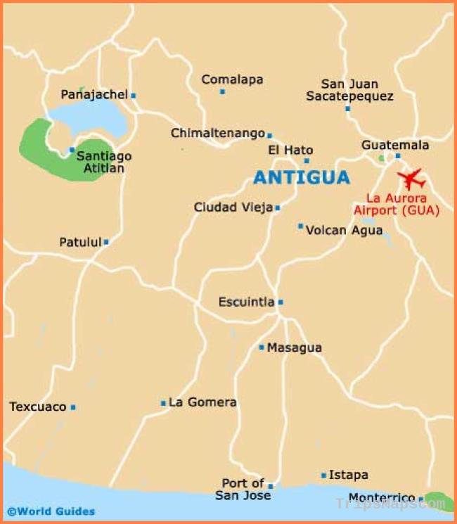 Map of Guatemala | Where is Guatemala? | Guatemala Map English ...