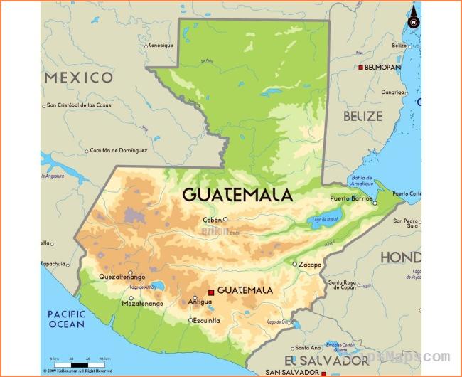 Map of Guatemala | Where is Guatemala? | Guatemala Map ...