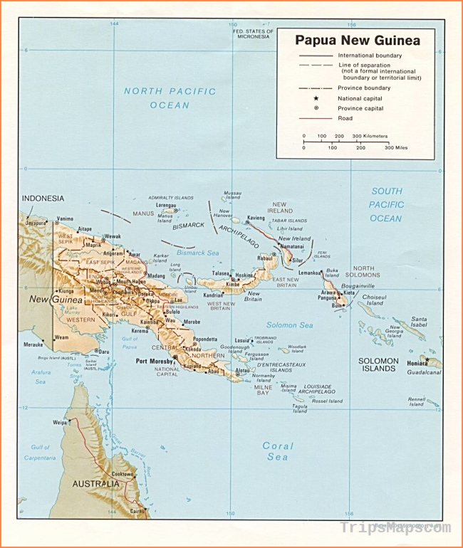 Papua New Guinea Maps - Perry-Castañeda Map Collection