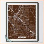 Henderson, nevada street map print