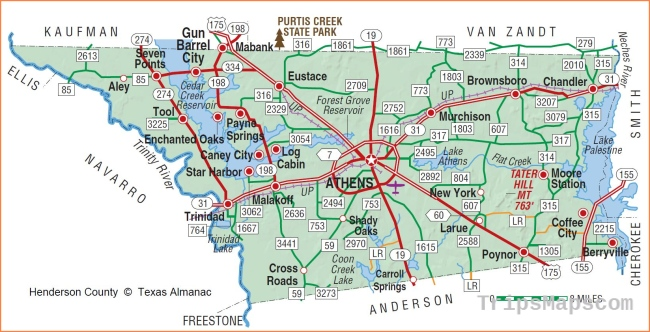 HENDERSON COUNTY | The Handbook of Texas Online| Texas State