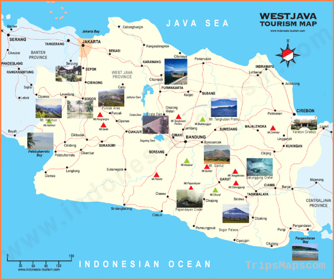 Indonesia Maps - Indonesia Travel Map - Southeast Asia Map