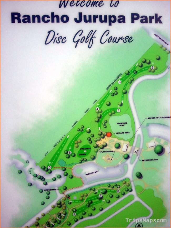 Rancho Jurupa Park | Professional Disc Golf Association