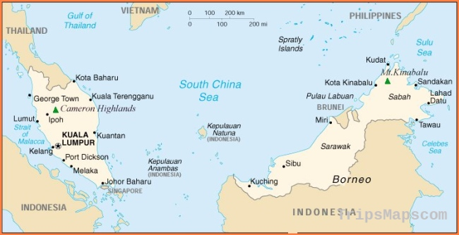 Kuala Lumpur Malaysia Map Map of Kuala Lumpur Malaysia | Where is Kuala Lumpur Malaysia