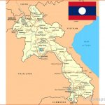 Maps of Laos | Collection of maps of Laos | Asia | Mapsland | Maps
