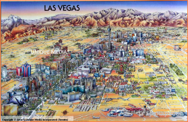 Map of Las Vegas | Where is Las Vegas? | Las Vegas Map English | Las ...