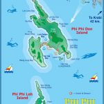 Large Phi Phi Islands Maps for Free Download and Print