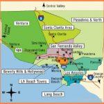 Los Angeles Tourist Map