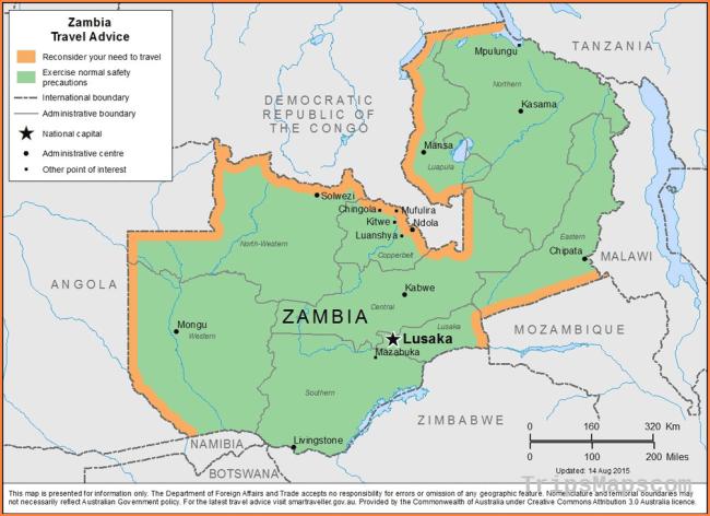 Smartraveller.gov.au - Zambia