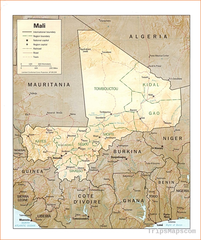 Mali Maps - Perry-Castañeda Map Collection
