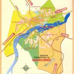 Map of Bamako city