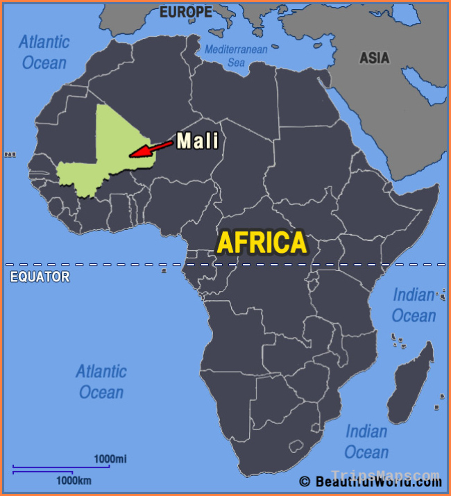Map of Mali - Facts & Information