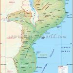 Mozambique Map, Map of Mozambique
