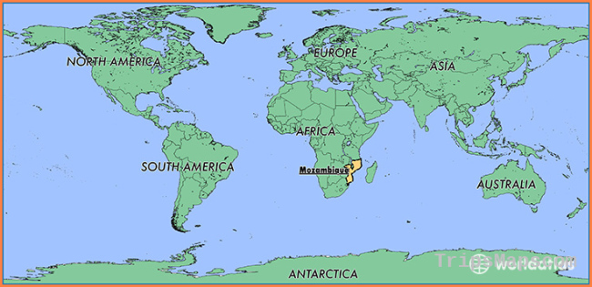 Where is Mozambique? / Where is Mozambique Located in The World